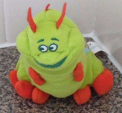 "Heimlich The Caterpillar From A Bug's Life 10"" Soft Toy Disney"