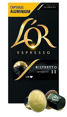 50 x L'Or Capsule Espresso Café Ristretto dosettes Compatible Machines Nespress