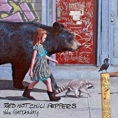 NEW! The Getaway by Red Hot Chili Peppers (CD, Jun-2016)DIGIPAK