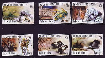 2000 Isle of Man. Centenary of Gaiety Theatre, Douglas  SG 895/900 MNH