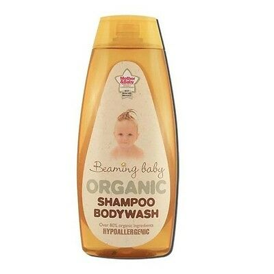 BEAMING BABY ORGANIC SHAMPOO & BODY WASH HYPO-ALLERGENIC - 250ml