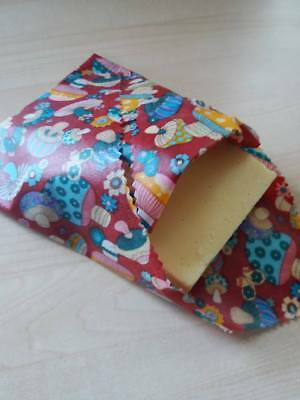 Beeswax Wraps Natural Eco food wraps that fit your family's  lifestyle 30x35cm
