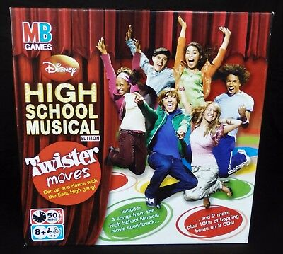 Disney High School Musical Edition Twister Moves Game,Fun Activity-Fast Free P&P