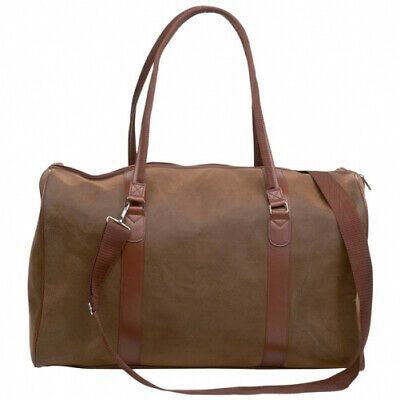 embassy travel gear faux leather 21 tote bag
