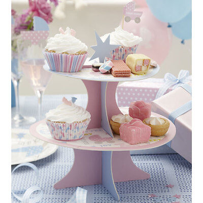 Tiny Feet Baby Shower Cupcake Stand