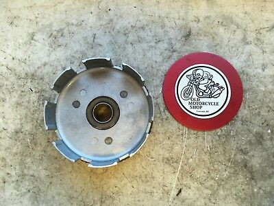 1981 - 1982 Yamaha Mx100 Clutch Outer Basket / Primary Driven Gear Comp Oem
