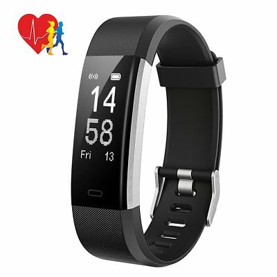 ID115HR+ Fitness Health Activity Tracker, Touch Screen Multi Sport Tracking, GPS