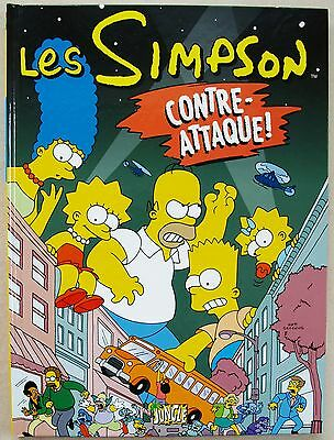 Les Simpson Contre-Attaque ! Matt GROENING éditions Jungle