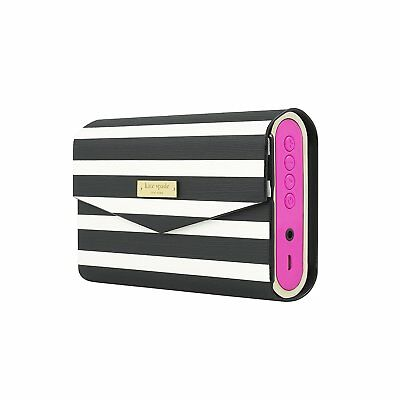 Authentic Kate Spade NY Portable Wireless Bluetooth Speaker & Cover Gift Set NEW