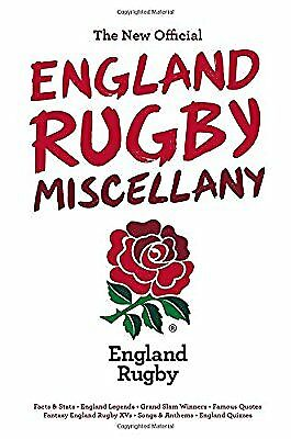 The New Official England Rugby Miscellany, Chris Hawkes, Used; Very Good Book