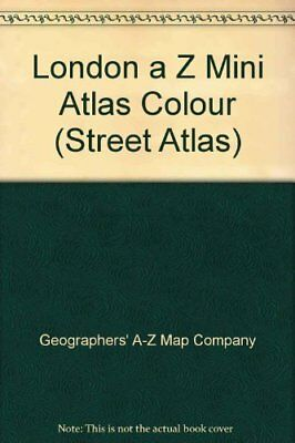 A-Z of London Mini Street Atlas, Geographers' A-Z Map Company, Used; Acceptable
