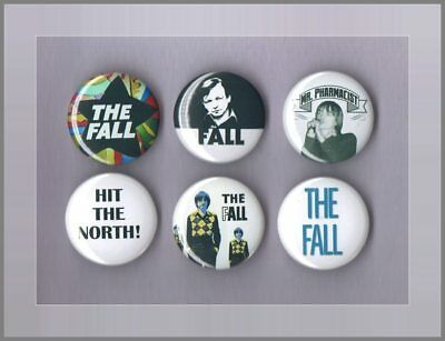 The Fall - Mark E. Smith - 6 X 31 mm Button Badges - Freepost