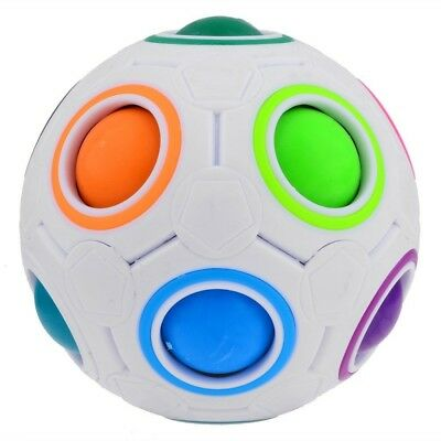 FIDGET BALL Magic Rainbow Ball Magic Cube Zauber Kugel Regenbogen Ball Twist
