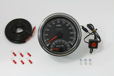 Multi Ratio Speedometer Tachometer Combo,fits Harley Davidson motorcycle models
