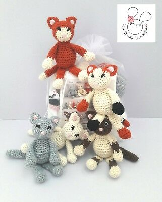 Crochet Kit - Baby Unicorn Mini Crochet Kit - Craft birthday mothers day gift