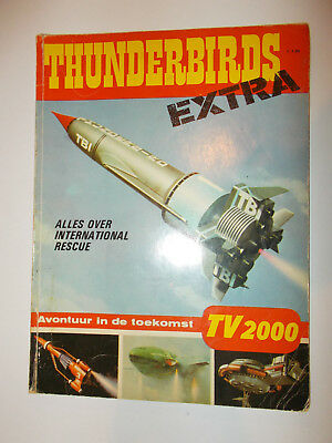 Thunderbirds Extra (Netherlands) 1966 This Is In Dutch (I Think) Ex Condition