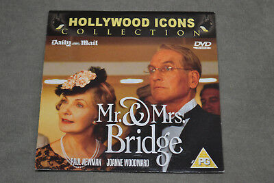 Mr. & Mrs. Bridge - Paul Newman & Joanne Woodward Daily Mail Promo DVD Film 1990