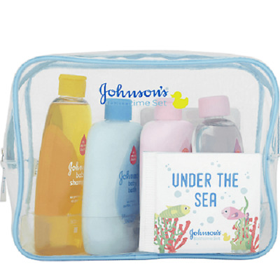 Johnson's Under the Sea Bathtime Gift Set Johnsons New