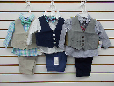 Infant Boys Assorted 4pc Suits Size 12 Months