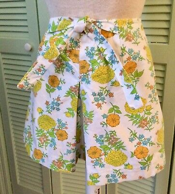 Vintage hot pants, skort, 1970 vintage, summer, 9 - 11