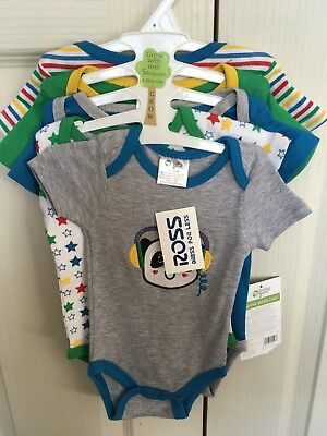 baby vest set x5 grow with me x2 0 to 3 months and x3 3 to 6 months