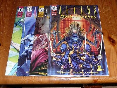 Aliens Music Of The Spears 1-4 1994
