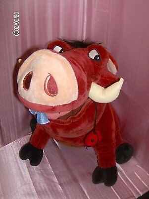 The Lion King - Large Pumbaa Soft Toy