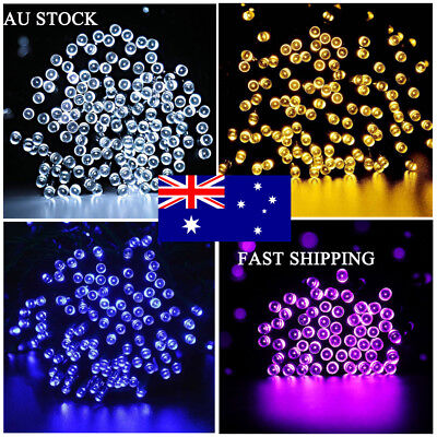 250 Or 500 LED Fairy String Lights Christmas Tree Xmas Party Wedding Outdoor DIY
