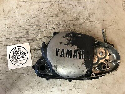 1979 Yamaha Mx100 Crankcase (R) Clutch Side Cover Right 401-15421-00-00