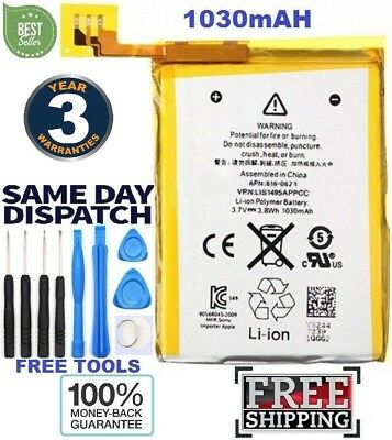 New Resplacement Battery For iPod Touch 5th Generation 1030mAH Brand (Longlife)