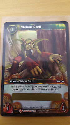 Vicious Grell - WoW Pet - TCG - unscratched