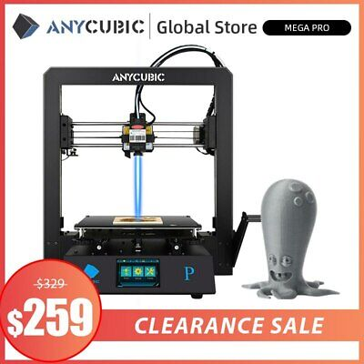 US STOCK ANYCUBIC 3D Printer KOSSEL Plus Linear Auto Leveling Half- assemble Kit
