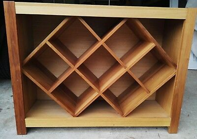 Timber Wine Rack, BARGAIN!!, Cost over $700