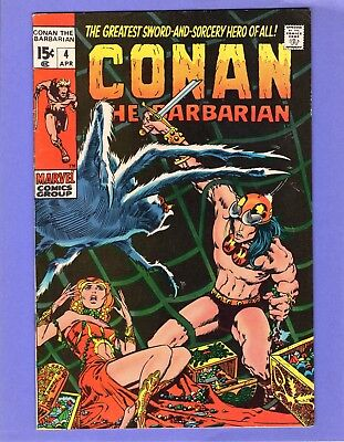Conan the Barbarian #4 --   Barry Smith - Tower of the Elephant! --  VF-  cond.