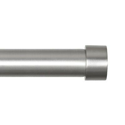 Umbra Cappa 1-1/4-Inch Curtain Rod for Window, 72 to 144-Inch, Nickel