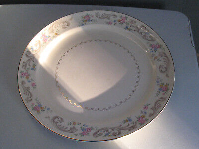 """The Paden City Pottery Co. Floral Pattern Dinner Plate F47 10"""""""