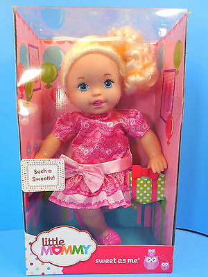 Fisher Price Little Mommy Doll Sweet as Me Such a Sweetie New