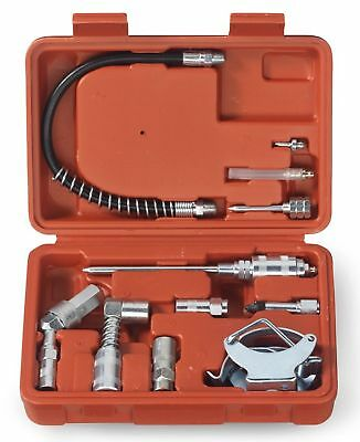 Tooluxe 61077L Grease Gun and Lubrication Accessory Kit Multi-Function with C...