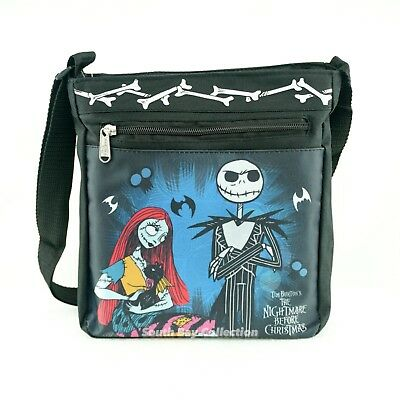 Disney Nightmare Before Christmas Jack Skellington Crossbody Messenger Bag Purse