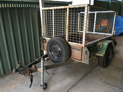 6 x 4 cage trailer - great workhorse in a popular configuration