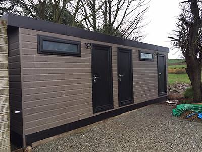 25 x 12 portable cabin, shower toilet block , modular building, portable office