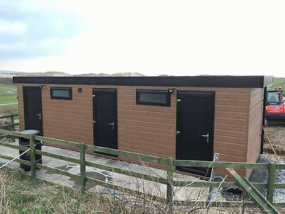 28 x 10 portable cabin, shower toilet block , modular building, portable office