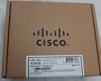 PVDM3-32  NEW sealed in box Original Cisco - 1 Year warranty