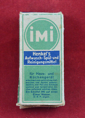 Wehrmacht Wwii German Small Ration Imi Detergent Box Rare War Relic