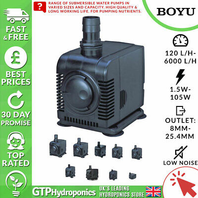 Submersible Water Pump Boyu fp100/150/350/750/1000/1500/2000/3000/4000/5000/6000