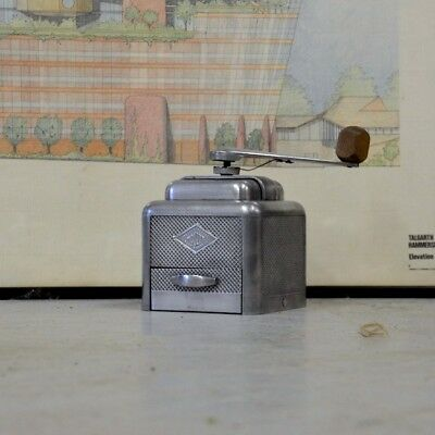 Vintage 1950s MOULUX Coffee Grinder Made in France