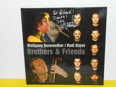 Lp - Wolfgang Bernreuther / Rudi Bayer - Brothers & Friends - Signiert