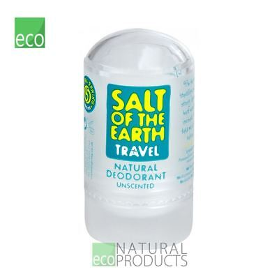 Salt of the Earth Natural Crystal Deodorant Stone Unscented 50g