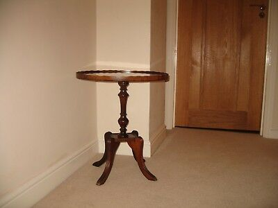 Small Mahogany Occasional table Reproduction Regency Style