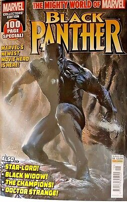 Marvel Mighty World Of  Black Panther = Collectors Edition = # 17 = 100 Page Sp